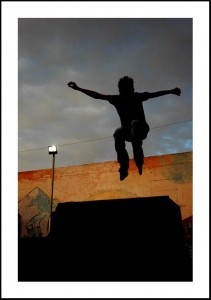 Jumping over El Segundo, El Paso-2009