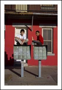 ChucoStreet, Mailbox Kids in Segundo Barrio, 2012