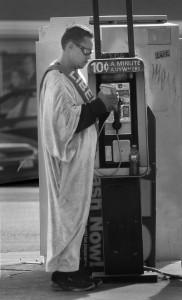 Man in a Gown, El Paso. 2014