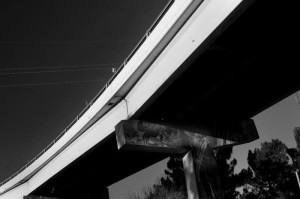 Relics of Light and Shadow #12, Overpass to Juarez